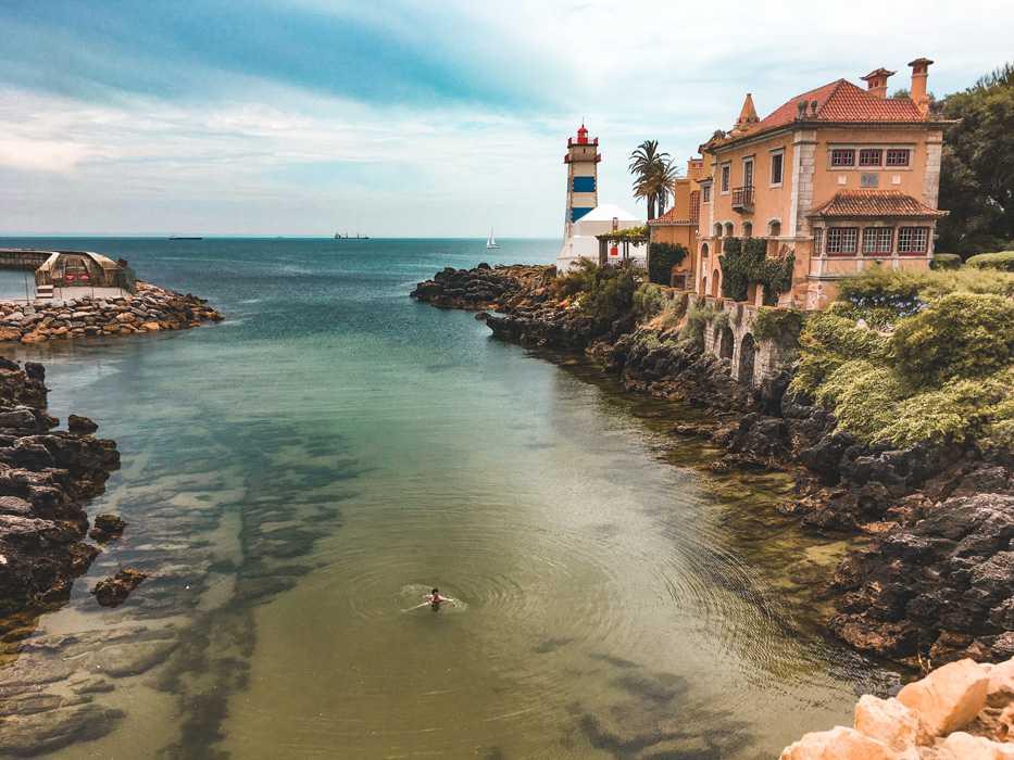 Linha de Cascais | Praia de Santa Marta