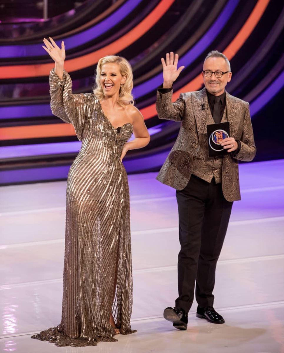 Cristina Ferreira na TVI com Manuel Luís Goucha