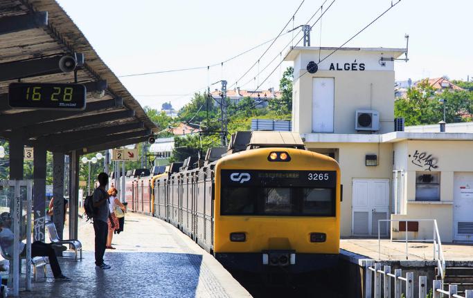 Linha de Cascais | Estação de Algés