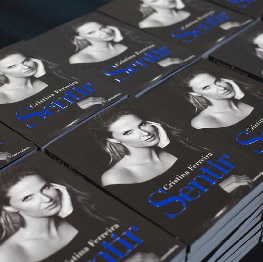 Livro Sentir de Cristina Ferreira