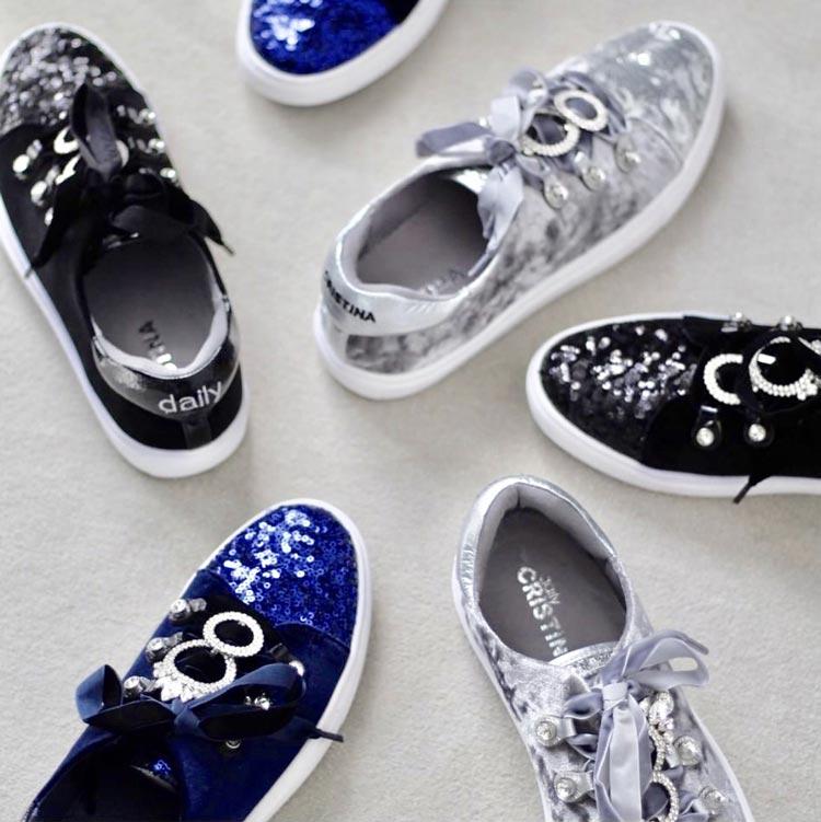Sapatos da Cristina Ferreira